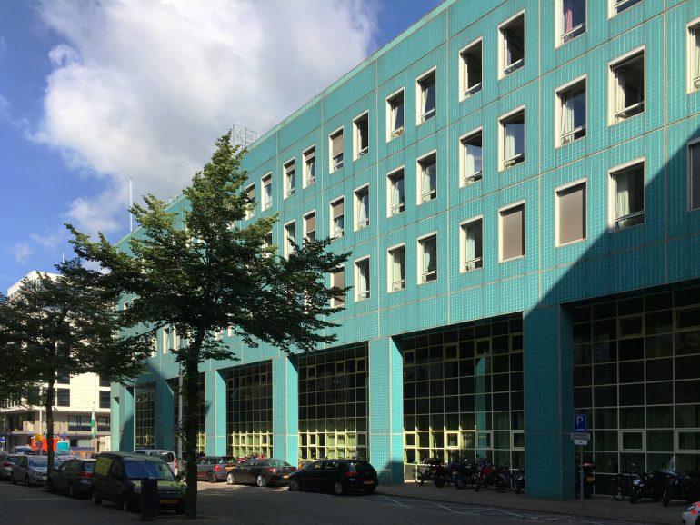 Politiebureau Rotterdam: tegels